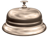 Sepia hotel bell Royalty Free Stock Photo