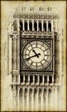 Sepia image of the Big Benin London Royalty Free Stock Photos