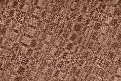 Sepia  knitted fabric Royalty Free Stock Photos