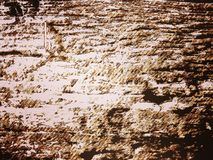 Sepia Muur vector illustratie