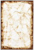 Sepia Paper Background. Grunge sepia paper bordered background Stock Image