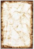 Sepia-Papierhintergrund Stockbild