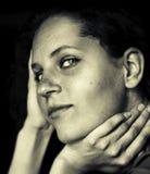 image photo : Sepia portrait