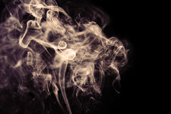 Sepia smoke Stock Images