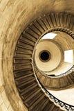 sepia spirala Zdjęcia Royalty Free