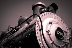 Sepia Steam Train Engine Royalty Free Stock Photos