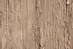 Sepia stemde oude gebarsten verf royalty-vrije stock afbeeldingen