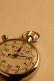 Sepia Stopwatch Royalty Free Stock Images