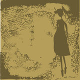 Sepia stylized background Royalty Free Stock Photos