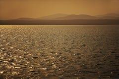 Sepia Sunset Stock Image