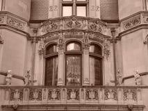 Sepia Tien van de Reeks van het Huis van Burrage Stock Afbeeldingen