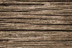 Sepia Tone Rustic Background uit Doorstaan Hout royalty-vrije stock foto