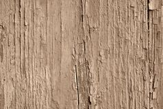 Sepia toned old cracked paint royalty free stock images