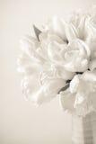 Sepia tonte Tulpenblumenstrauß Stockfoto