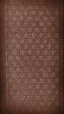Sepia Vintage Wallpaper Background Texture Design royalty free stock photography