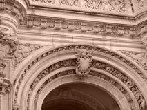 Sepia Zes van de Reeks van het Huis van Burrage Royalty-vrije Stock Fotografie