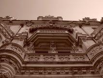 Sepia Zeven van de Reeks van het Huis van Burrage Royalty-vrije Stock Afbeeldingen