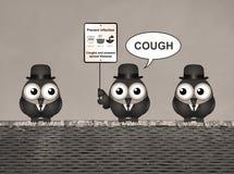 Sepiainfluensa och förkylningförhindrande Royaltyfri Fotografi