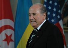 Sepp Blatter stockfotografie