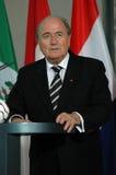 Sepp Blatter lizenzfreies stockbild