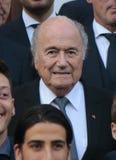 Sepp Blatter stockfoto