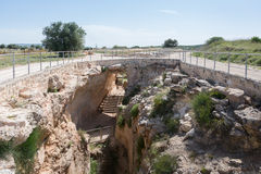 Sepphoris water system Royalty Free Stock Images