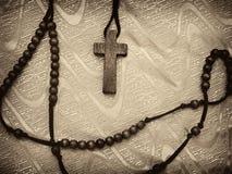 Seppia del rosario modificata Fotografia Stock