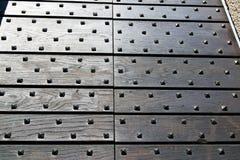 Seprio κλειστή περίληψη ξύλινη Ιταλία Arsago Στοκ εικόνα με δικαίωμα ελεύθερης χρήσης