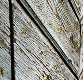 seprio σκουριασμένη κλειστή εκκλησία ξύλινη Ιταλία Λομβαρδία arsago Στοκ εικόνες με δικαίωμα ελεύθερης χρήσης