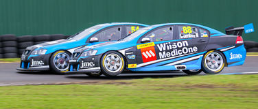 16-18 Sept de Wilson Security Sandown 500 2016 - dia 2 Fotografia de Stock Royalty Free