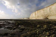 Sept falaises de soeurs Images stock