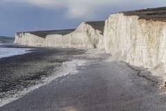 Sept falaises de soeurs Photographie stock