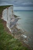 Sept falaises de soeurs, Royaume-Uni Photo stock