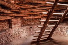 Sept Kiva Pueblo photo libre de droits