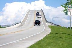 Sept milles de passerelle de Key West photo stock