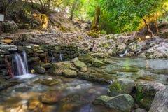 Sept ressorts Rhodes Image libre de droits