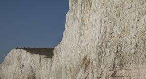 Sept soeurs, East Sussex, Angleterre ; bleu et blanc photographie stock
