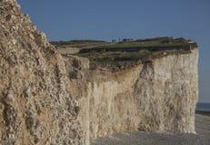 Sept soeurs, East Sussex, Angleterre ; rivage et falaises image libre de droits