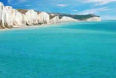 Sept soeurs le Sussex est Angleterre Photo libre de droits