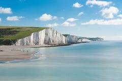 Sept soeurs parc national, Angleterre photographie stock libre de droits