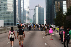 After 29 Sept umbrella revolution Royalty Free Stock Photography