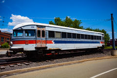 SEPTA Car at the Electric City Trolley Museum Stock Images