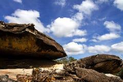 Septarien und Wolke Stockfoto