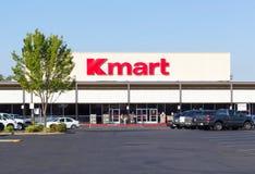 萨加门多,美国- 9月13日:凯马特在Septembe的商店入口 免版税图库摄影