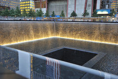 September 11 infinite pool memorial Royalty Free Stock Images
