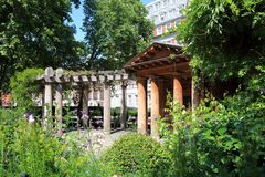 September 11th Garden Memorial London Royalty Free Stock Image