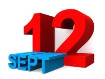 12. September stock abbildung