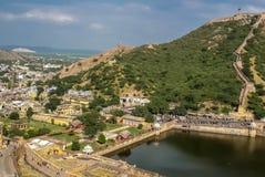 September 2015 around Amer Fort in jaipur, rajasthan india.September 2015 royalty free stock image