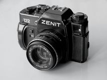 September, 22, 2017 Arzamas, Russia Old camera Zenith Stock Photo