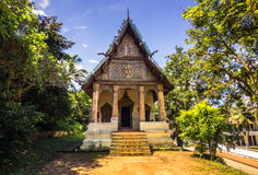 20 september, 2014: Boeddhistische tempel in Luang Prabang, Laos Stock Foto